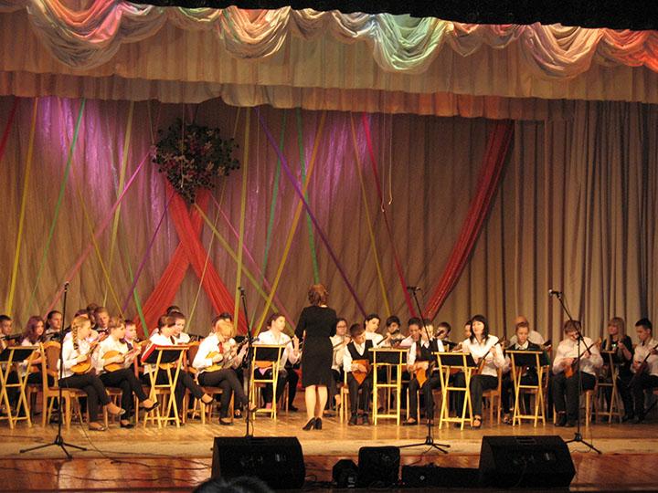 Образцовый оркестр русских народных инструментов