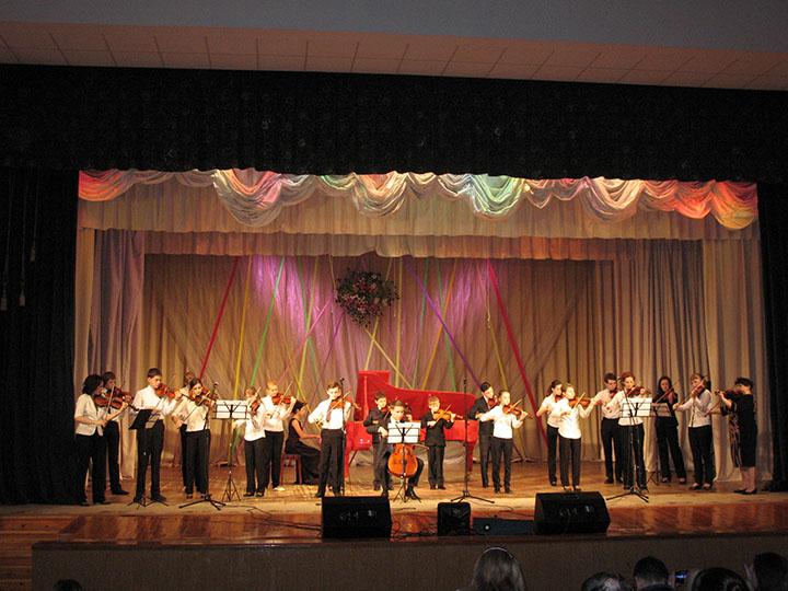 Образцовый ансамбль скрипачей и виолончелистов «Мелодия»